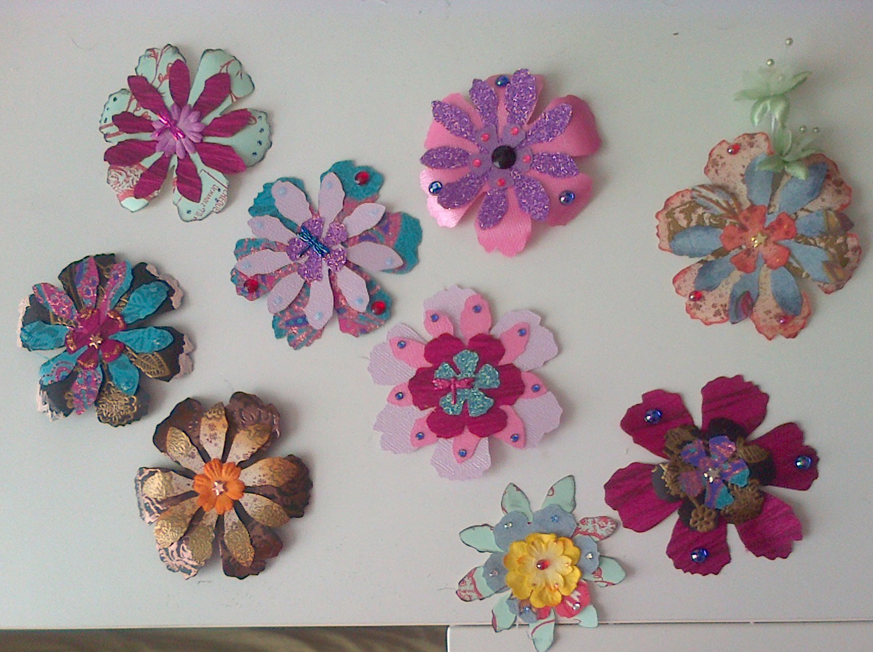 Obsessed With Paper Flowers X