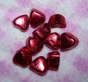 choc hearts