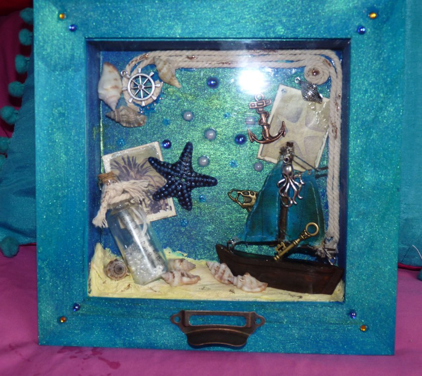 ship shadowbox