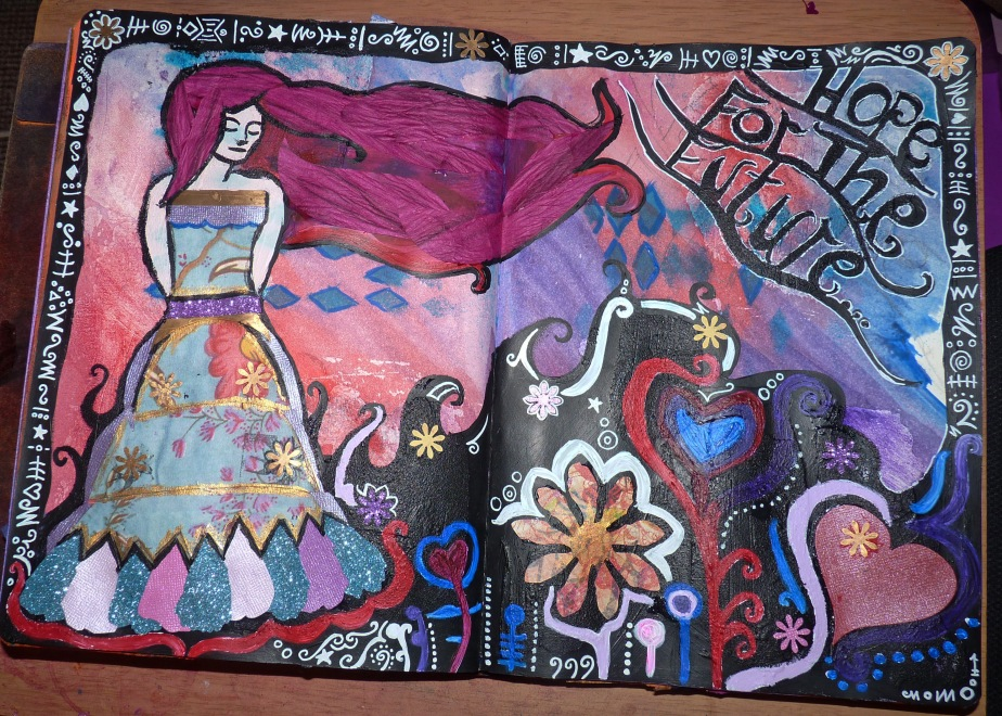 art journal page3