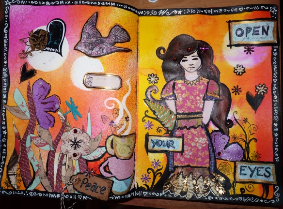 Art Journal Whimsical