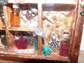 Close up of items