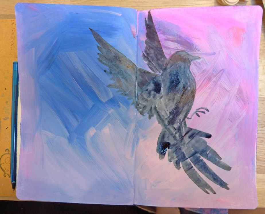 bird art journal