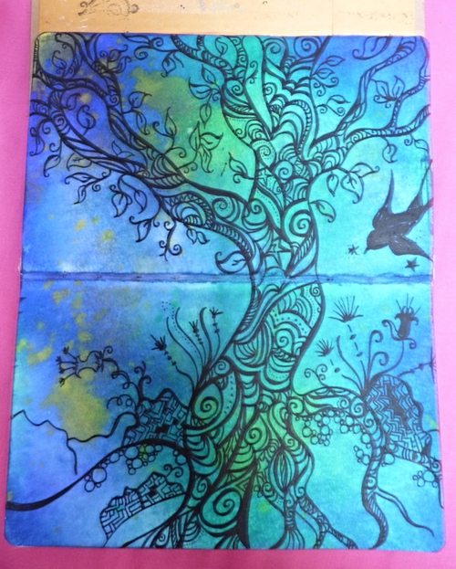 Tree Art Journal