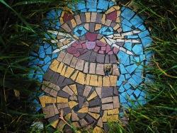 cat mosaic