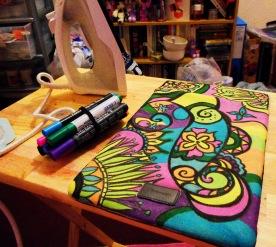 fabric pens