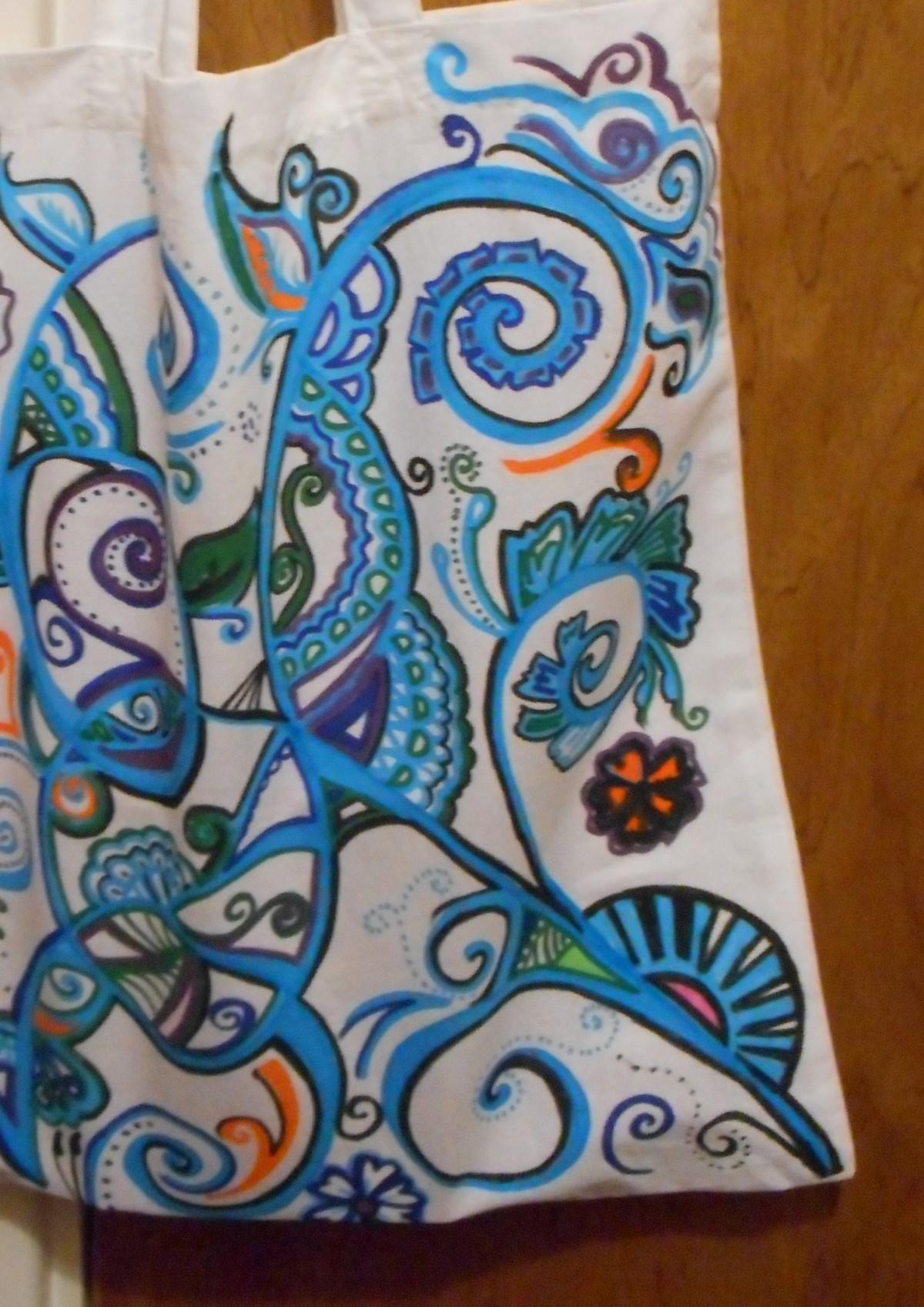 Fun With Fabric Pens –Tutorial