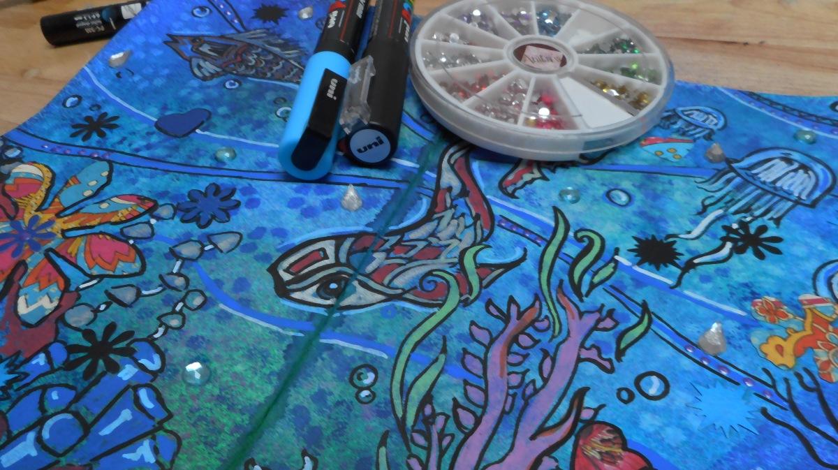 Sea Themed Art JournalVideo