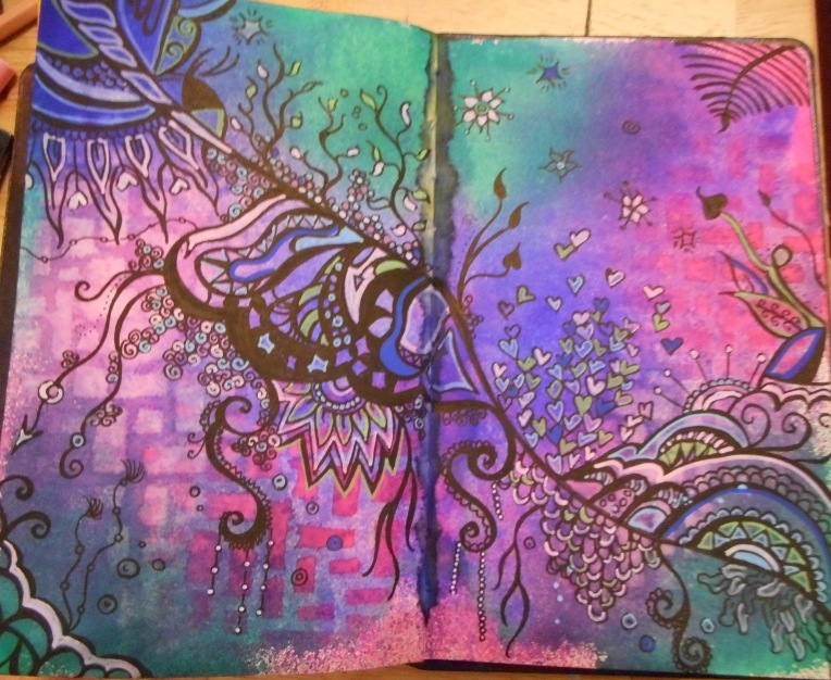 strange doodle