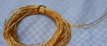 Lovely gold thread