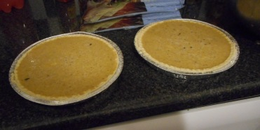 I made Pumpkin Pie