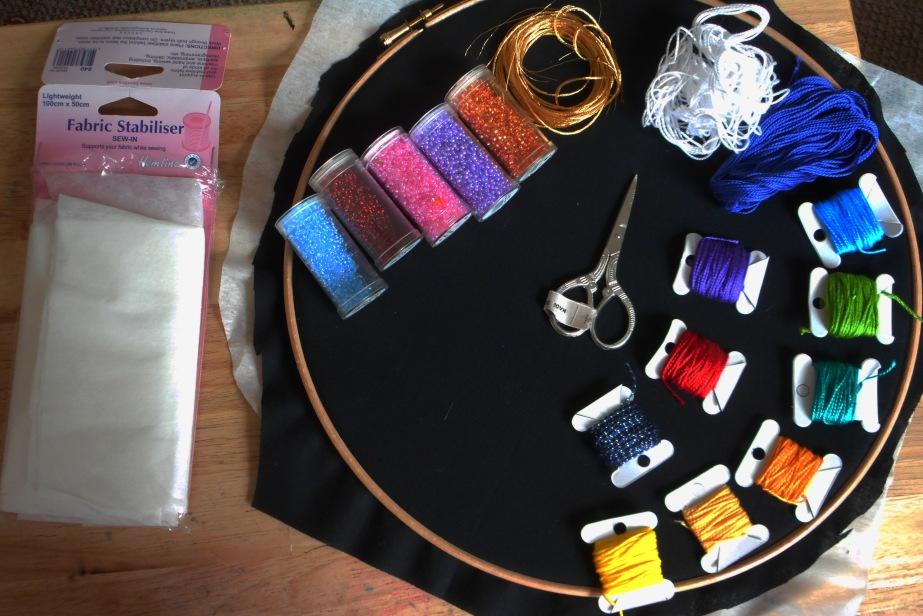 Fabrics, Threads & Beads