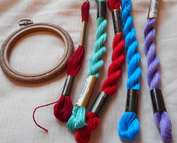 hoop and thread
