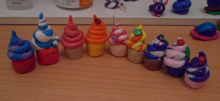 A few cupcakes
