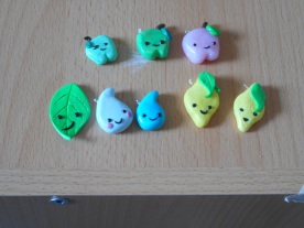 Fimo Fruit charms
