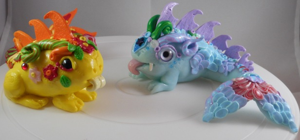 Polymer Clay Fizzlings
