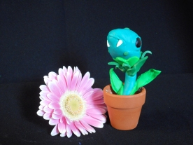 Polymer Clay plant Monster