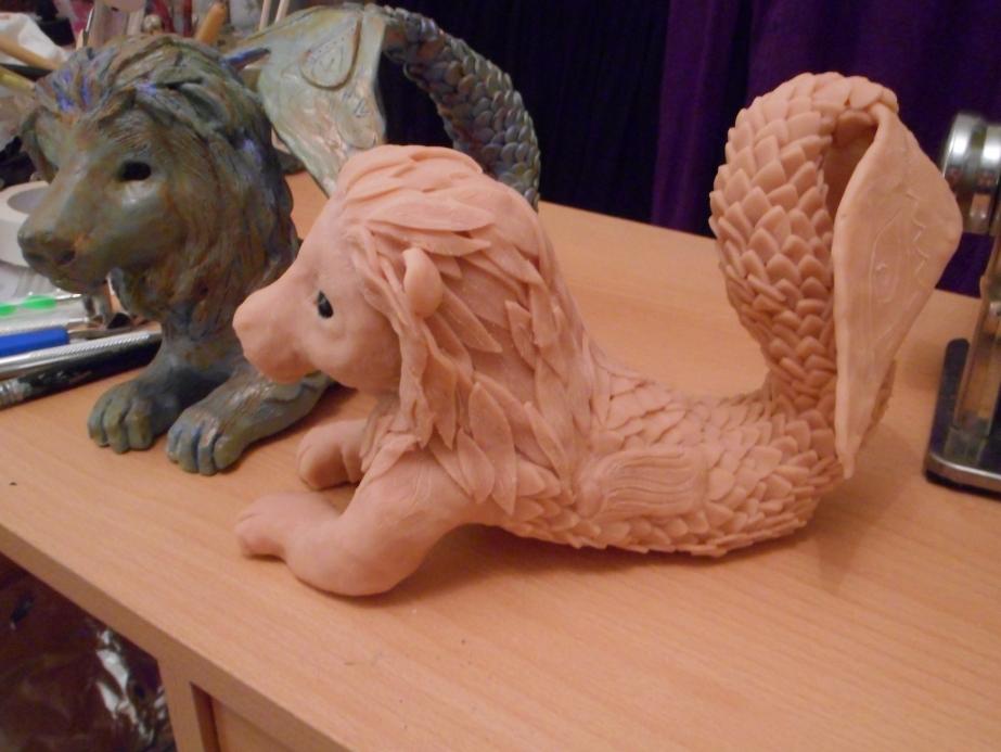 Merlion Sculptures