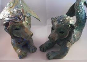 Super Sculpey Merlions