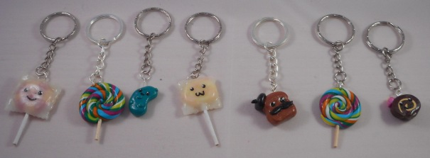 New cute Keyrings