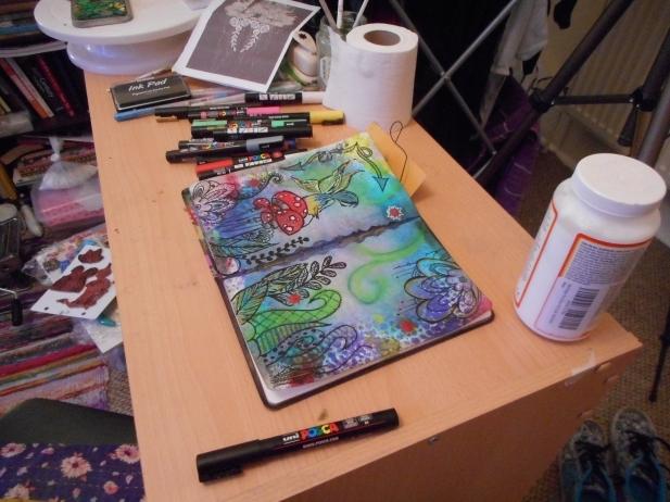 My little craft space