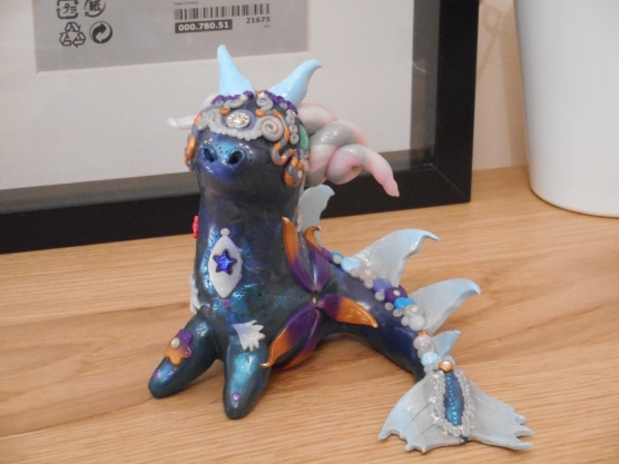 Polymer Clay Monster Ice