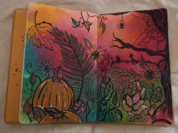Autumn journaling