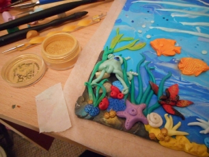 Clay Polymer Under the Sea