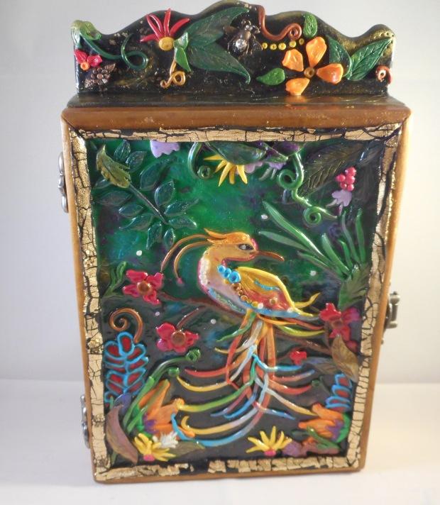 Polymer Clay Jungle Box