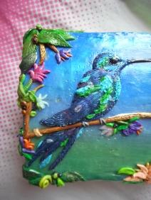 Polymer Clay hummingbird