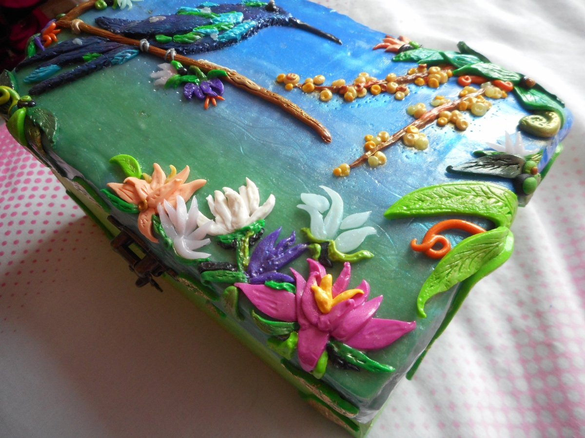 Polymer Clay Jewellery Box