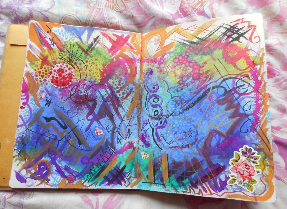 New Art Journal Pages