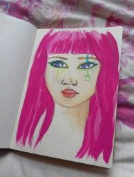 Watercolour & paint