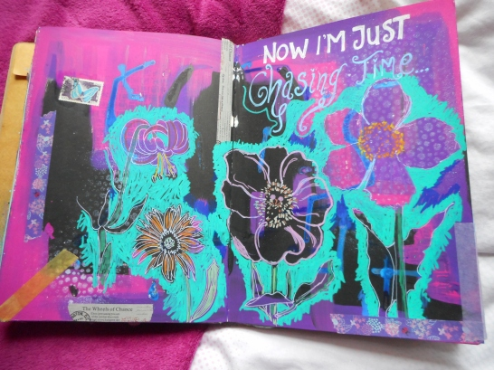 Flowers Art Journal