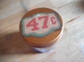 Inside mini glass jar