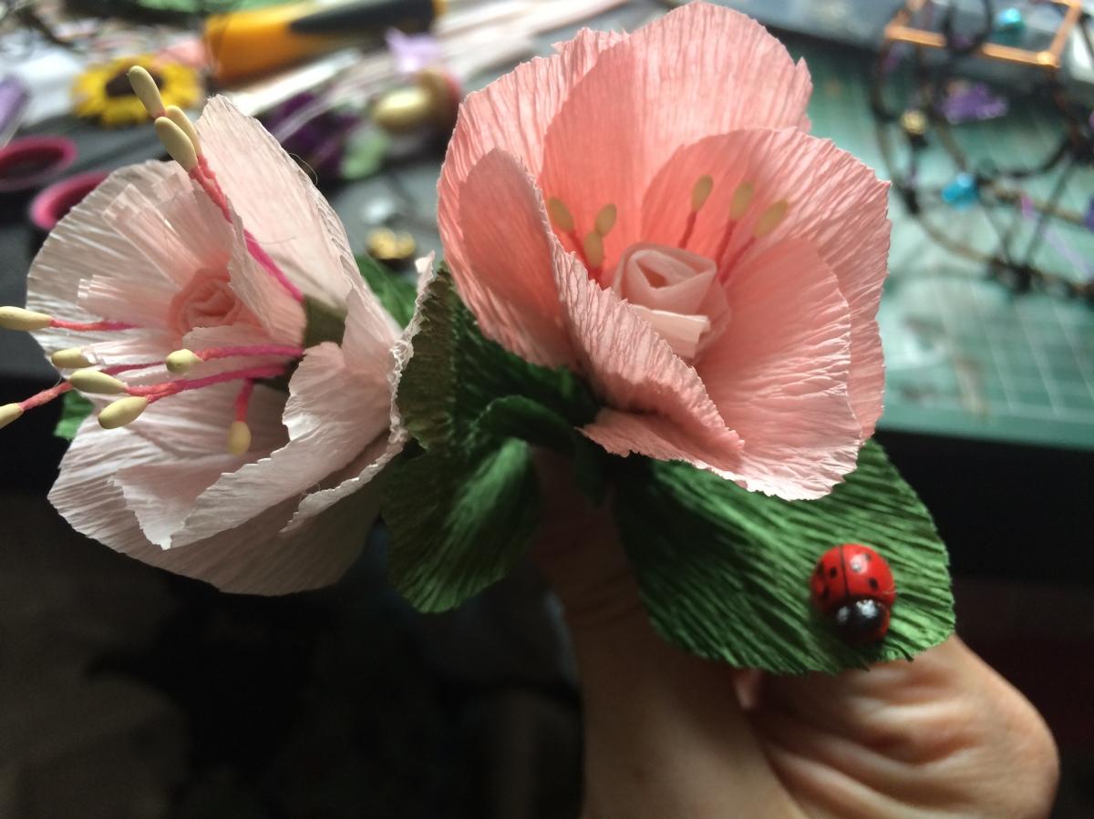 Paper Cherryblossoms