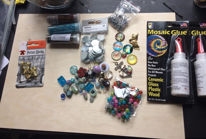 Mosaic art supplies