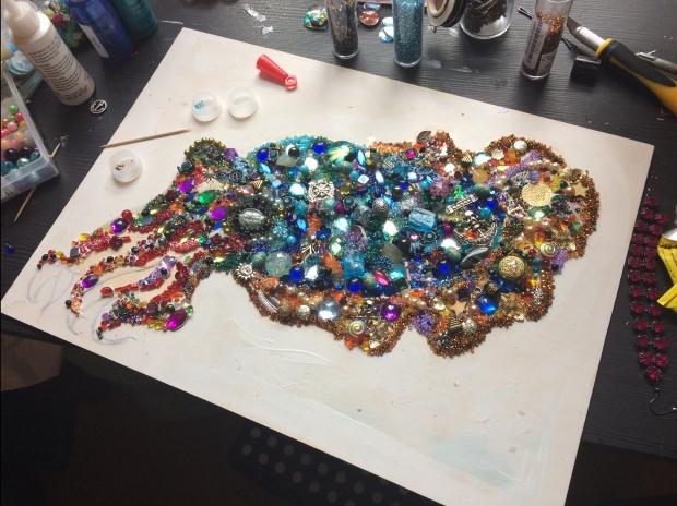 mosaic cuttlefish