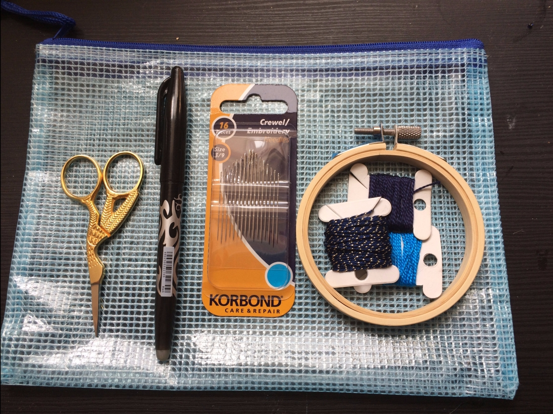 Embroidery Travel Kit