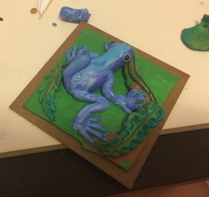 Polymer Clay Frog