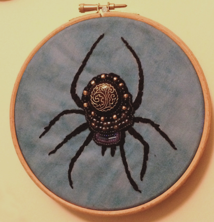 Spider Bead Embroidery