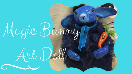 Magic Bunny Art Doll