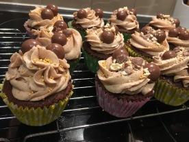 Malteaser Cupcakes