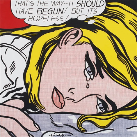 Roy-lichtenstein --its hopeless!
